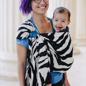 sling reglabil zebra