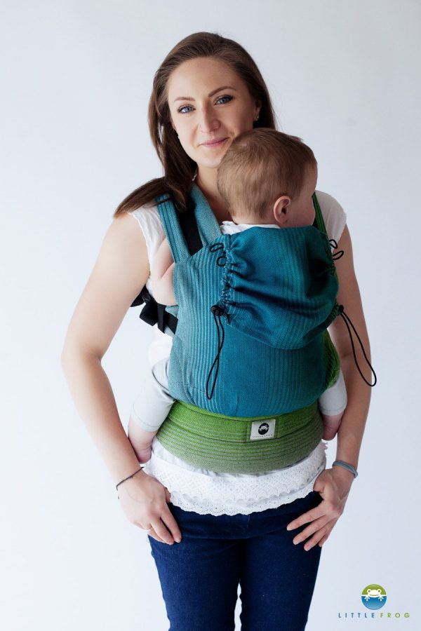 eng pl Little Frog Ergonomic Carrier Dark Bazzite 2 6378 1