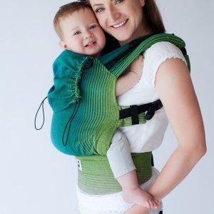 eng pl Little Frog Ergonomic Carrier Dark Bazzite 2 6378 3