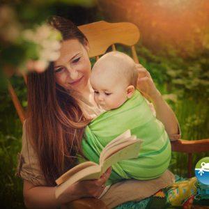 eng pl Woven wrap Little Frog Linen Beryl size 5 2nd Grade 3745 4 1
