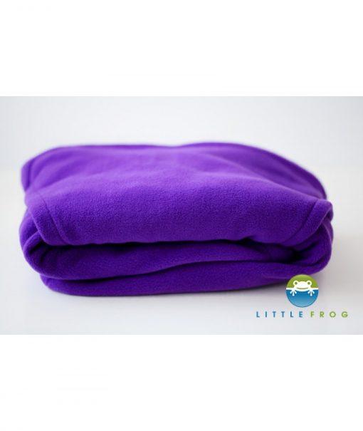 cover protectie sistem purtare polar frig iarna little frog cozy frog mov purple 850x1008