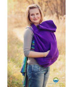 cover protectie sistem purtare polar frig iarna little frog cozy frog mov purple2 550x652