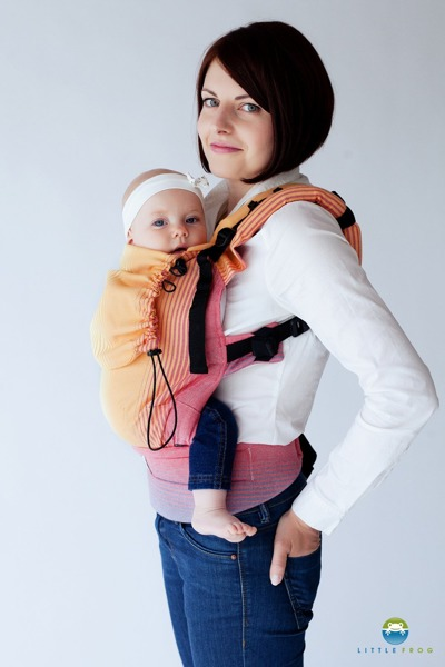 eng pl Baby carrier Little Frog Sandy Ammolite 2 499 1