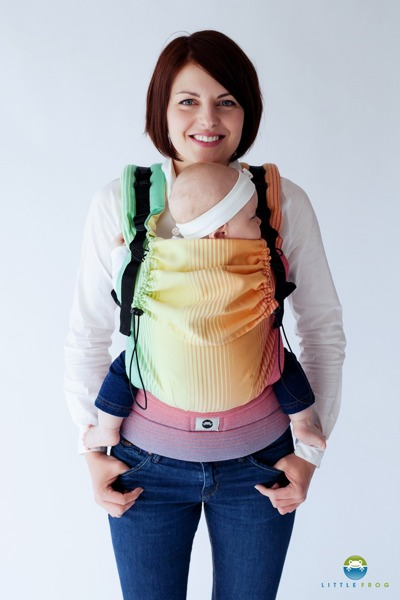 eng pl Baby carrier Little Frog Sandy Ammolite 2 499 2