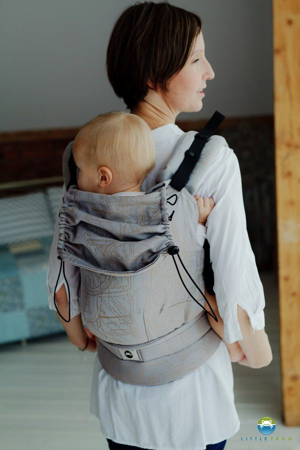 eng pl Little Frog Ergonomic Carrier Linen Industrial 6854 1