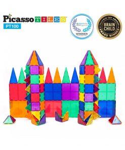 set magnetic constructie piese picasso tiles 100 10 850x1008