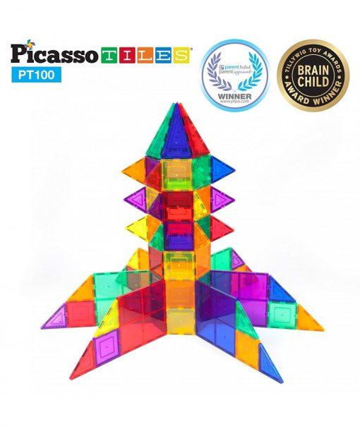 set magnetic constructie piese picasso tiles 100 11 850x1008