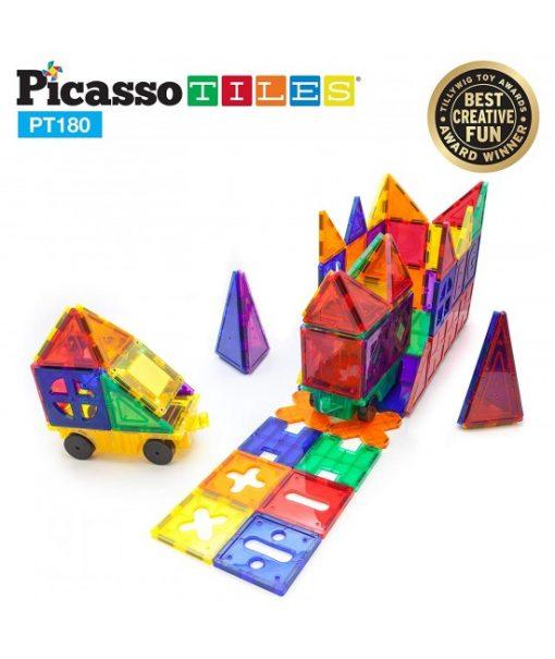 set magnetic constructie piese picasso tiles 180 2 550x652