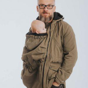 Haina de babywearing cu doua fete Parka - Lenny Lamb