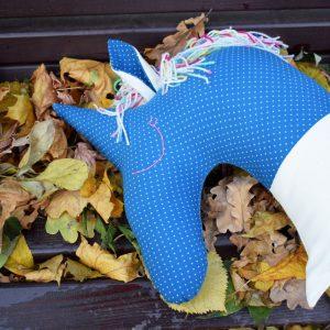 pernuta unicorn bleumarin