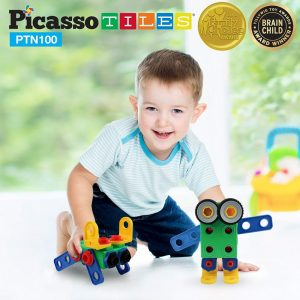 set picasso tiles 100 nuts and bolts constructie suruburi inginer10 850x1008