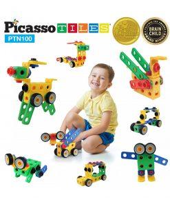 set picasso tiles 100 nuts and bolts constructie suruburi inginer4 850x1008