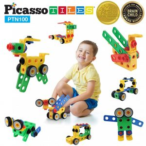 set picasso tiles 100 nuts and bolts constructie suruburi inginer4 850x1008
