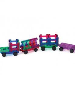 set piese magnetice playmags constructie copii joaca inteligenta 50 accesorii masini tren4 850x1008