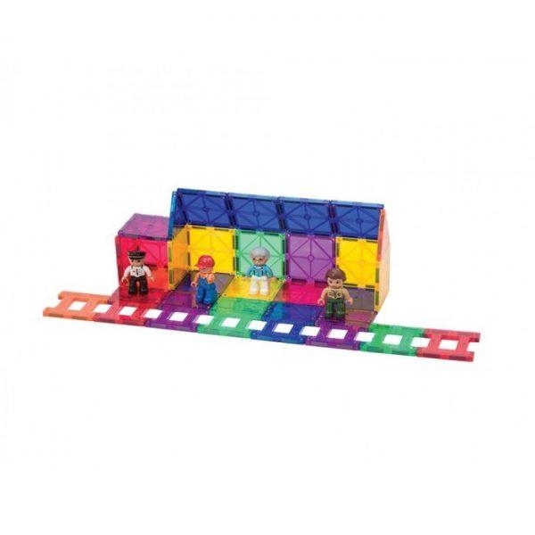 set piese magnetice playmags constructie copii joaca inteligenta 50 accesorii masini tren5 850x1008