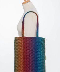 Sacosa textila Lenny Big Love Rainbow Dark 1