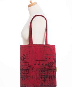 Sacosa textila Lenny Symphony Flamenco1