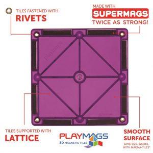 playmags piesa magnetica constructie