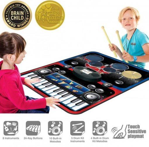 set pian tobe orga percutie covoras pliabil portabil flexibil picassotiles2