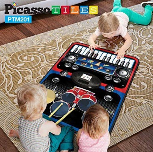 set pian tobe orga percutie covoras pliabil portabil flexibil picassotiles3