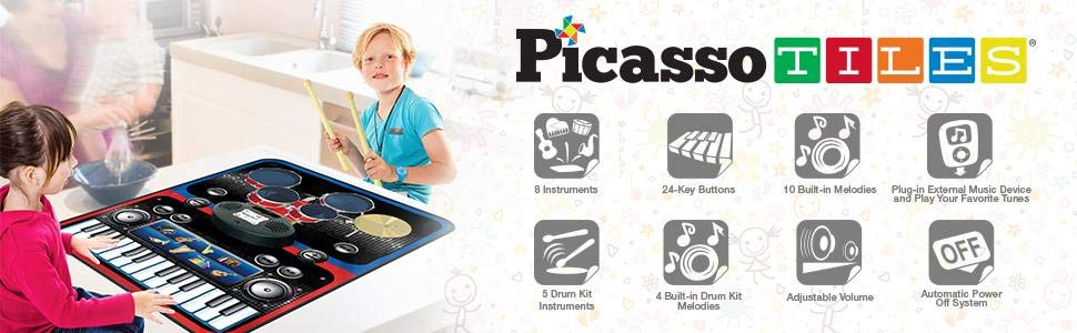 set pian tobe orga percutie covoras pliabil portabil flexibil picassotiles4