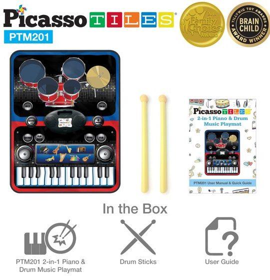 set pian tobe orga percutie covoras pliabil portabil flexibil picassotiles6
