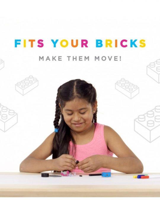 Jucarie Inteligenta Circuit Cubes Kit Arta 1