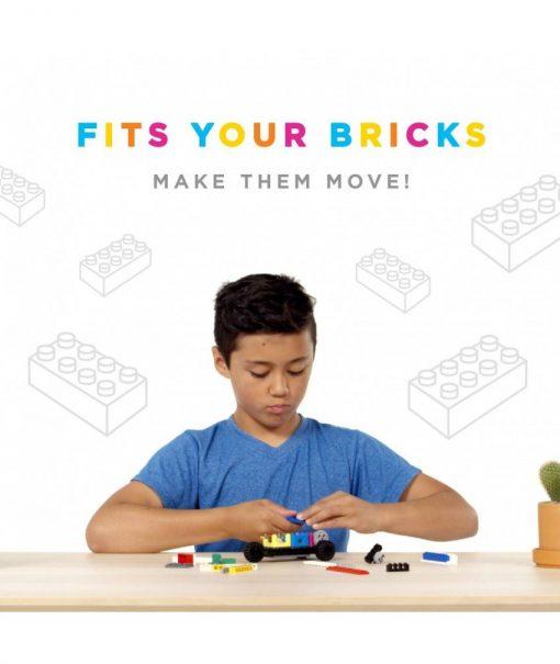 Jucarie Inteligenta Circuit Cubes Kit Masina Whacky 2