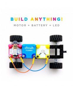 Jucarie Inteligenta Circuit Cubes Kit Masina Whacky 3