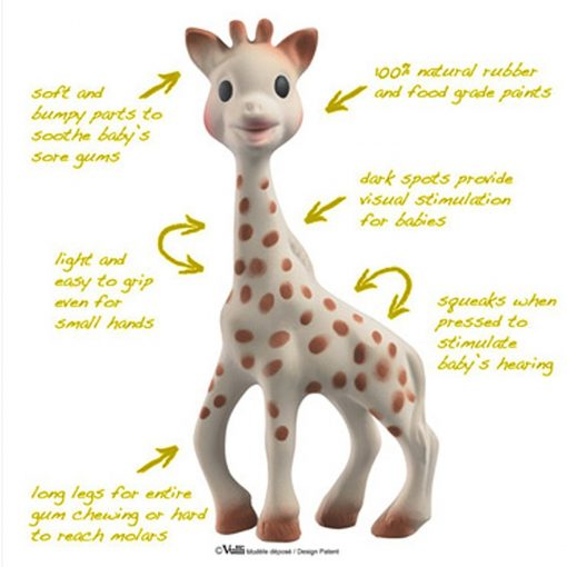 jucarie girafa sophi 1