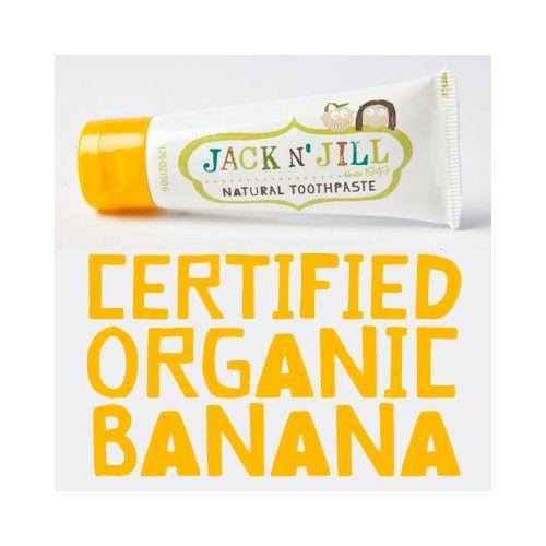 Pasta de dinti JacknJill Organica naturala bebe copii 1