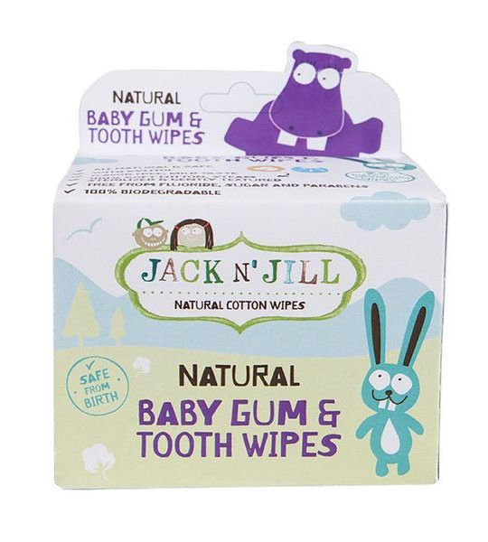 Servetele gingivale naturale JacknJill bebe copii