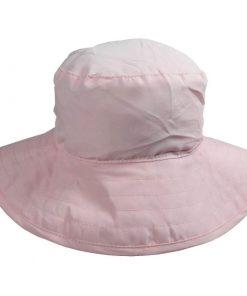 banz palarie protectie la soare reversibila upf50 pink floral 3