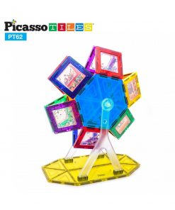 set magnetic constructie piese picasso tiles 62 ferris wheel2 850x1008
