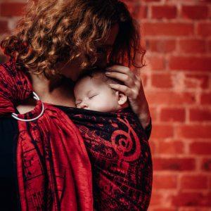 Sling cu inele LennyLamb Symphony Flamenco2