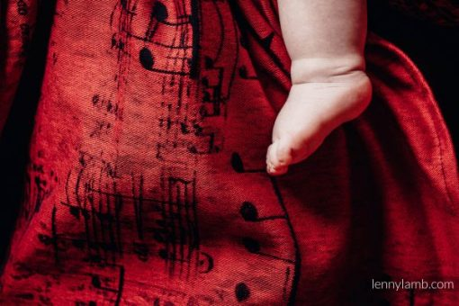 Sling cu inele LennyLamb Symphony Flamenco3 600x400