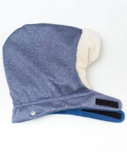 protectie de iarna timeless blue melange 1