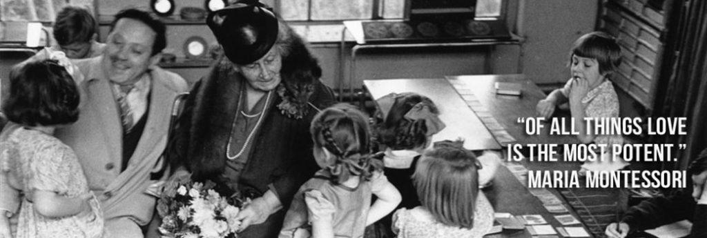 Moaria Montessori și fiul ei Mario