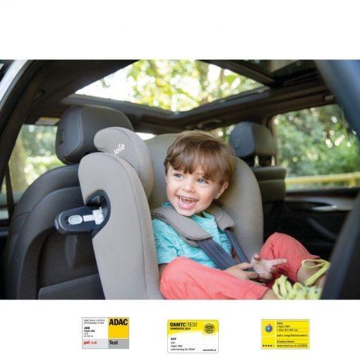 Empatis - Scaun auto Joie I-Spin 360 i-Size Gray Flannel