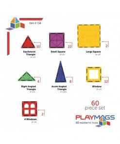 Empatis - Playmags - 60 piese